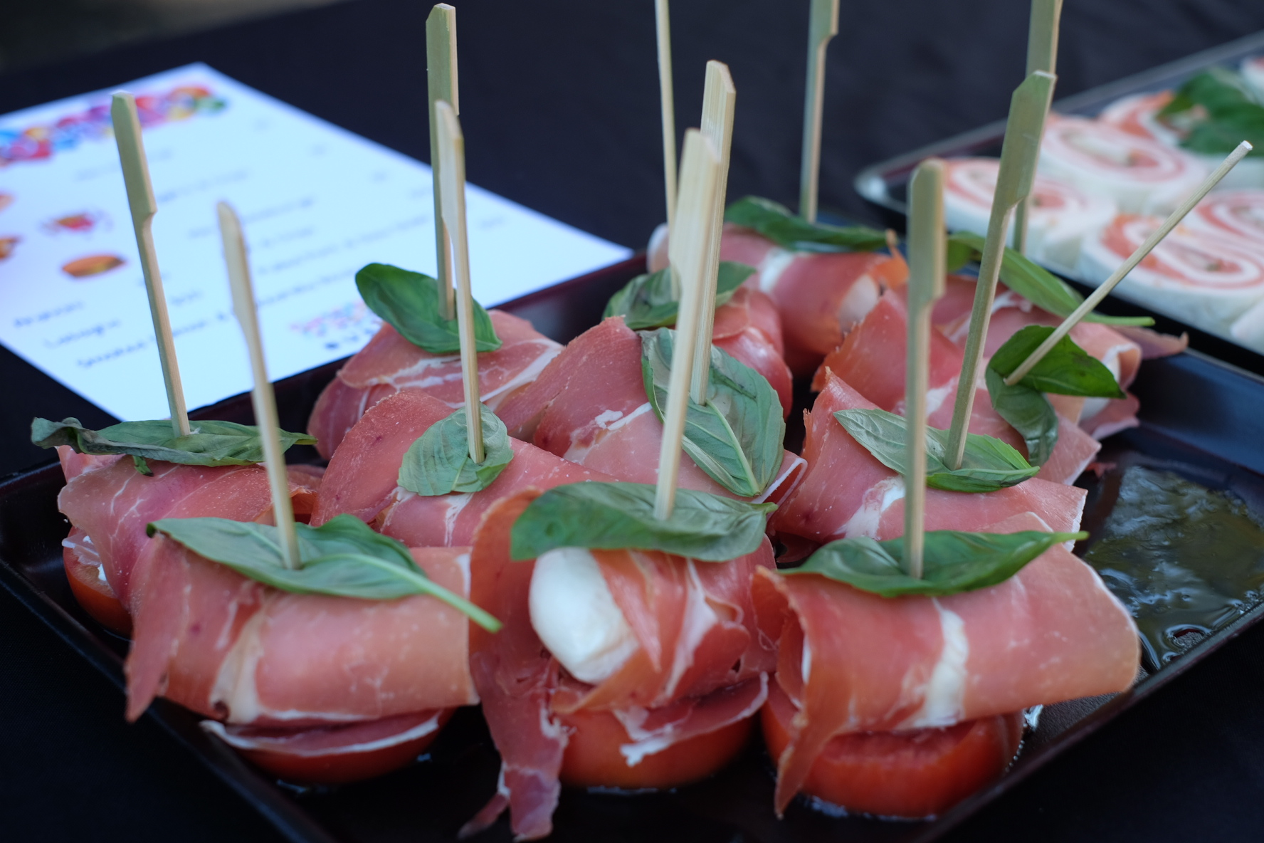 busfood prosciutto cheese